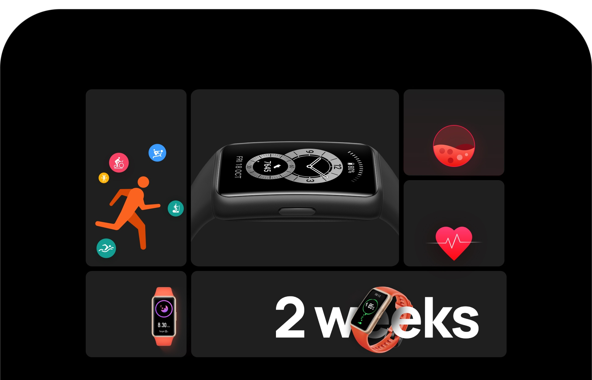 HUAWEI Band 6 Go Bigger for Better