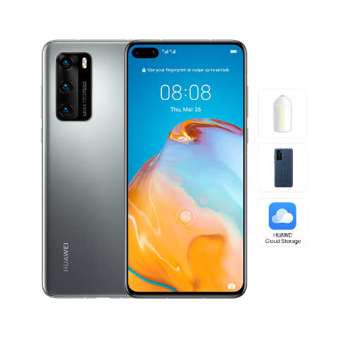HUAWEI P40 (Silver Frost)