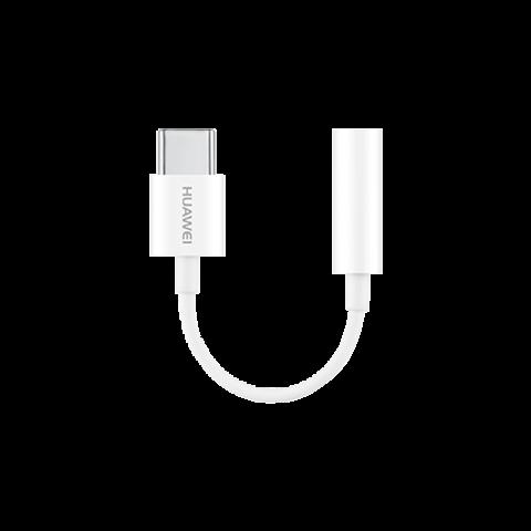Adapter HUAWEI CM20 USB-C do 3,5 mm jack - Biały