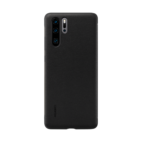 Etui Smart View Flip Cover do HUAWEI P30 Pro – Czarne