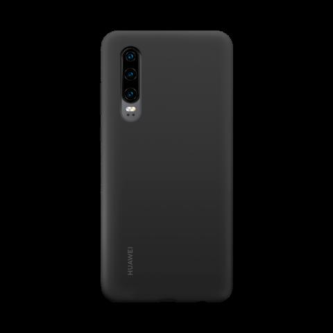 Etui silikonowe do HUAWEI P30 – Czarne