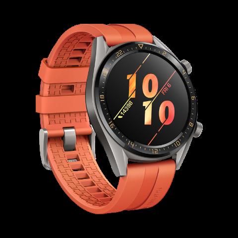 HUAWEI Watch GT Active - Pomarańczowy