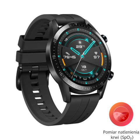 HUAWEI Watch GT 2 (46mm) - Czarny